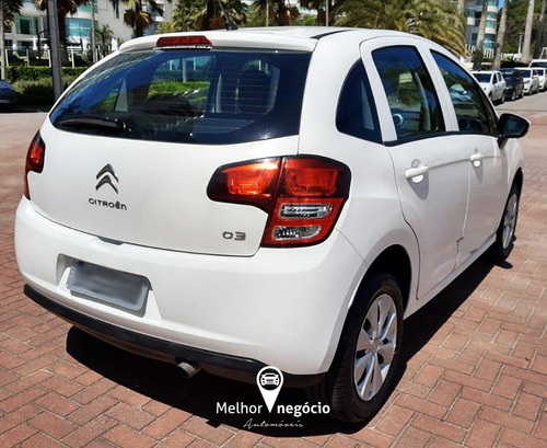 citroën c3 origine 1.5 8v flex 2016 branco