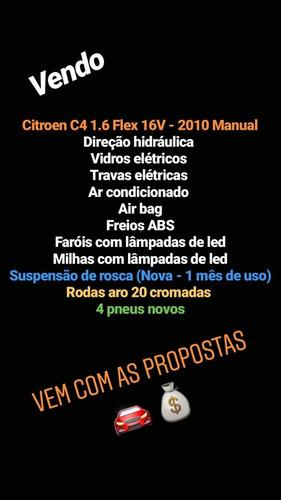 citroën c4 1.6 glx flex 5p 2010