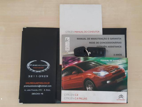 citroën c4 2.0 exclusive flex aut. 2011/2012 prata