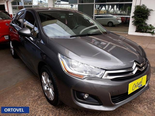 citroën c4 louge tendance 2.0 flex (8596)