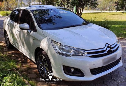 citroën c4 lounge exclusive 1.6 tb flex aut. 2017 branco