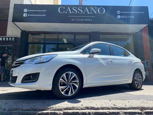 citroën c4 lounge shine 1.6 thp at6 blanco cassano automobil