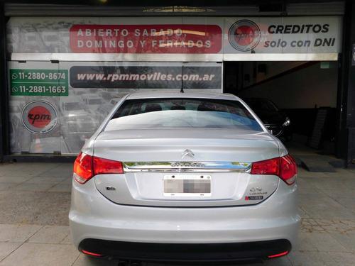 citroën c4 lounge tendance thp 1.6 aut 2014 rpm moviles