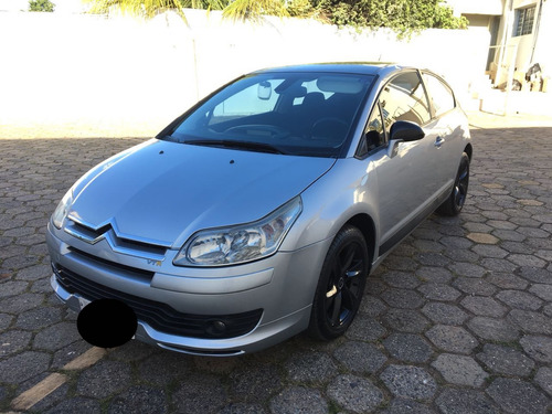 citroën c4 vtr 2.0 2007 prata rodas gasolina manual
