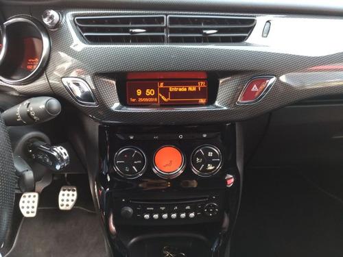 citroën ds3 1.6 sport chic 2013 vermelho gasolina