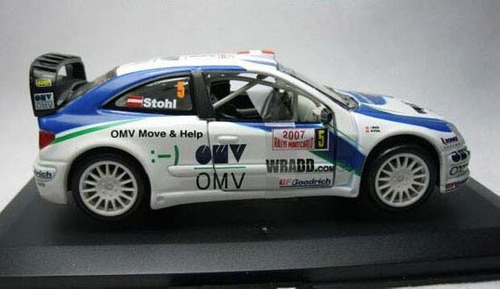 citroën world rally burago !/32 2007 omvteam xsara.nuevo