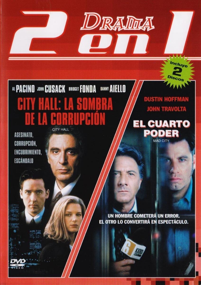 City Hall / El Cuarto Poder / 2 Peliculas Dvd