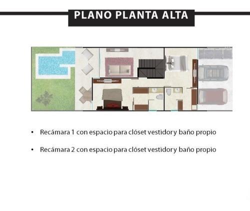 city house - casa en venta en temozón, 2 habs y piscina