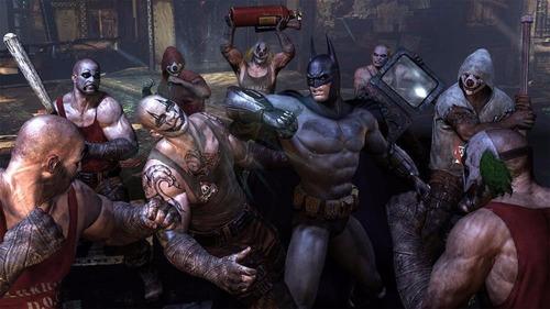 city ps3 batman arkham