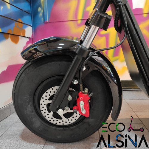 citycoco scooter eléctrico autonomía 60 km / envío gratis
