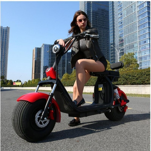citycoco scooter electrico bateria 20 ah removible 0km