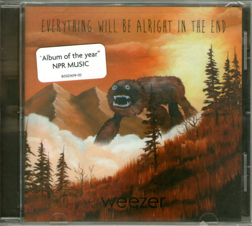ciudad weezer everything will be al (cd sellado usa) nirvana