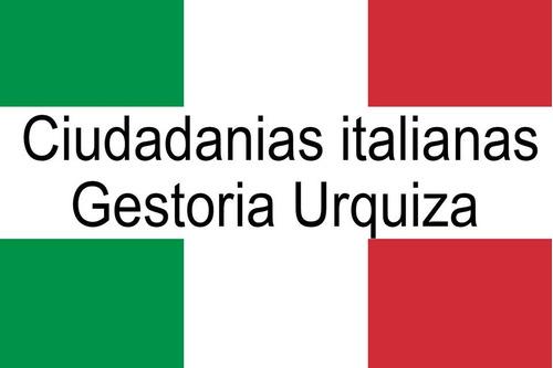 ciudadania italiana - traducciones - gestoría urquiza.