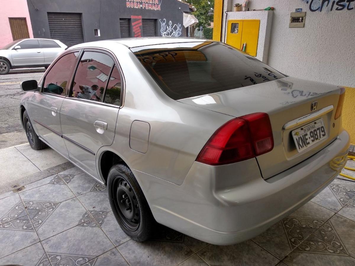 Civic 2001 1.7 Ex Automático Todo Revisado. Carregando Zoom.