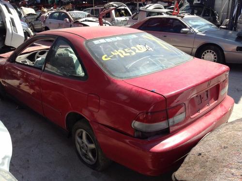 civic coupe 2000 por partes - s a q -