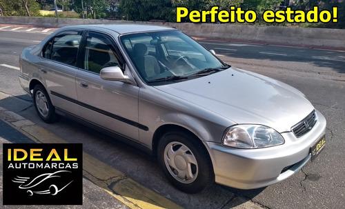 civic ex (aut) 1998 s/detalhe  pneus novos periciado 100% !