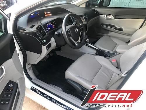 civic sedan lxr 2.0 flexone 16v aut. 4p mod 2016 impecável !