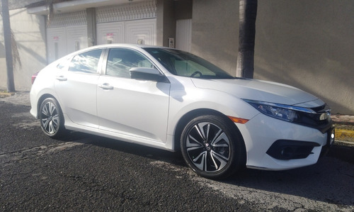 civic turbo plus 2017 único dueño factura original impecable
