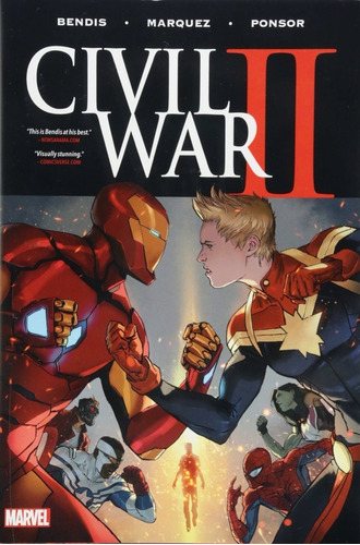 civil war 2 hc - marvel comics - robot negro