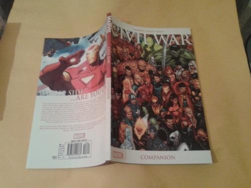civil war companion - marvel -  bonellihq cx392 g18