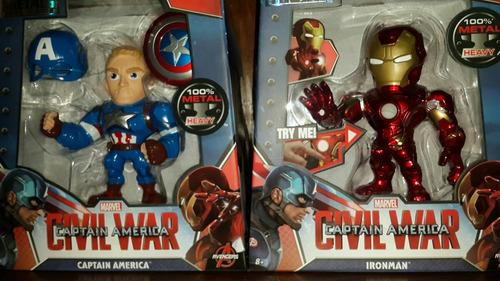 civil war set de 2 figuras jada toys metals 15 centímetros