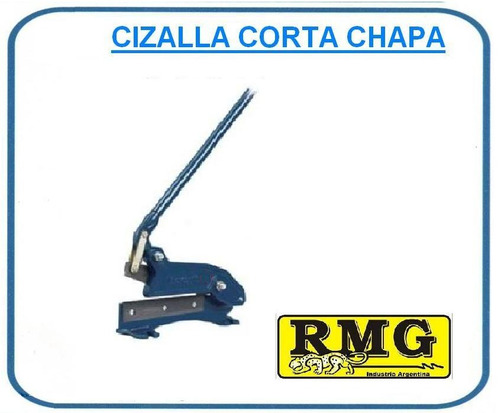 cizalla corta chapa 3 mm manual hierro redondo 12 mm