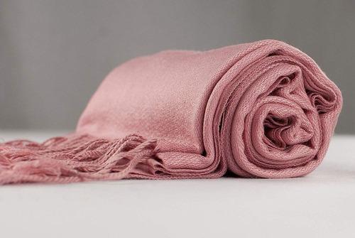 cj diseño de la ropa de color sólido segundos mantón de l