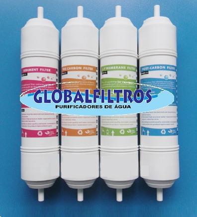 cj filtros hk4002 - sedimentos, pré-carvão, uf e pós-carvão