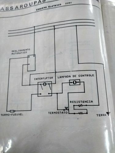 cj termostato cabo fusivel 220v msp-7 singer