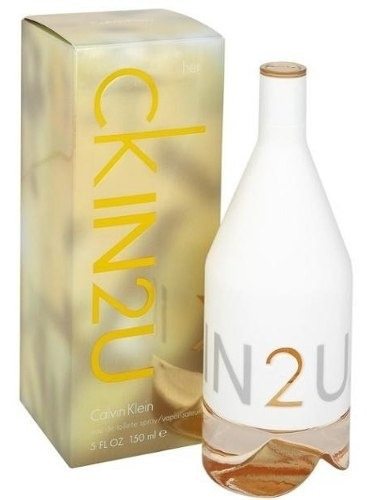 ck in 2 u mujer 150ml edt        silk perfumes