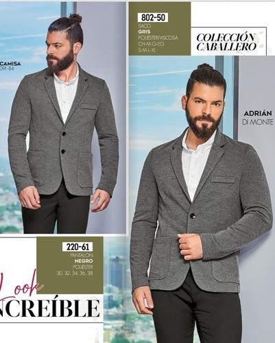 cklass caballero saco gris 802-50