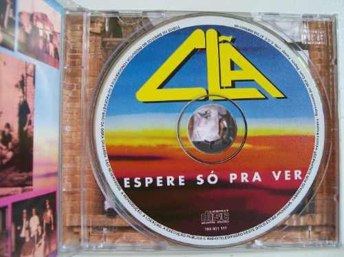 clã, espere só pra ver, cd original