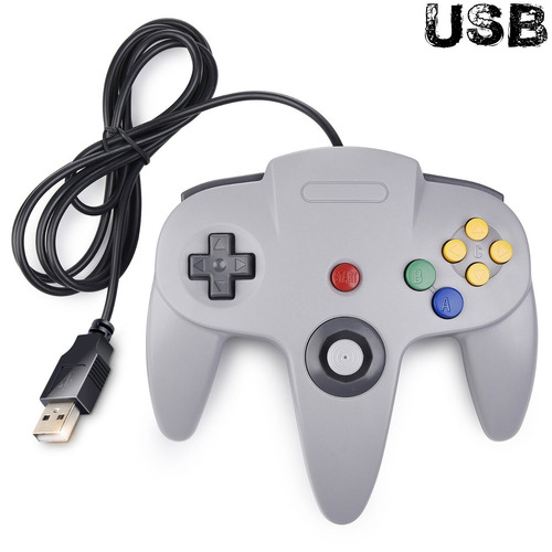 claasic n64 controller, innext n64 wired usb pc pad joyst...