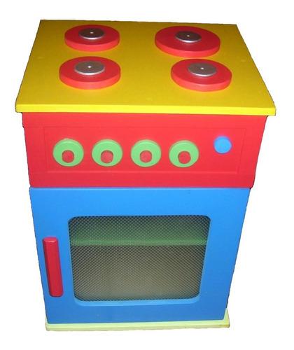 claf. cocina madera colores niños