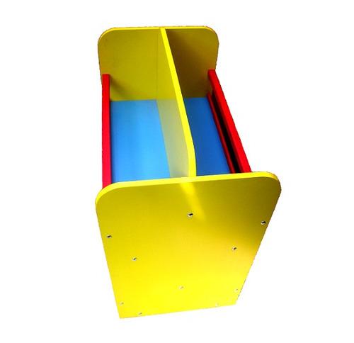 claf. repisa doble colores infantil en madera