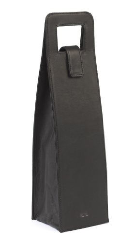 claire chase wine carrier, negro, talla única
