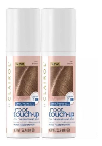 clairol root touch up tintura temporária light brown