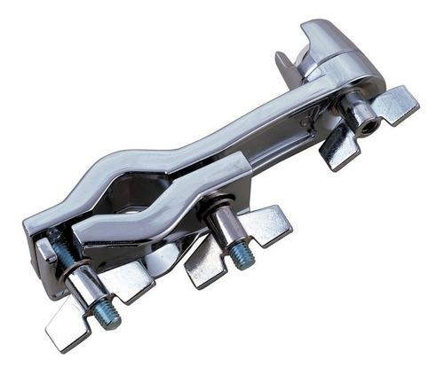 clamp braçadeira para extensor de estante de prato cromado