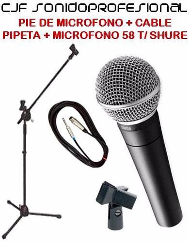 clamp de bateria takstar mh8 p/ montaje de microfonos cjf