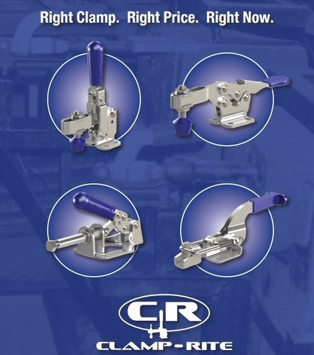 clamp-rite 16051cr-ss clamp manual en acero inox.- 150 lbs.