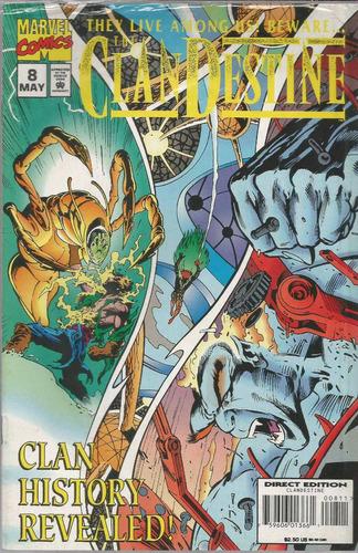 cland destine 08 - narvel comics - bonellihq cx422 h18