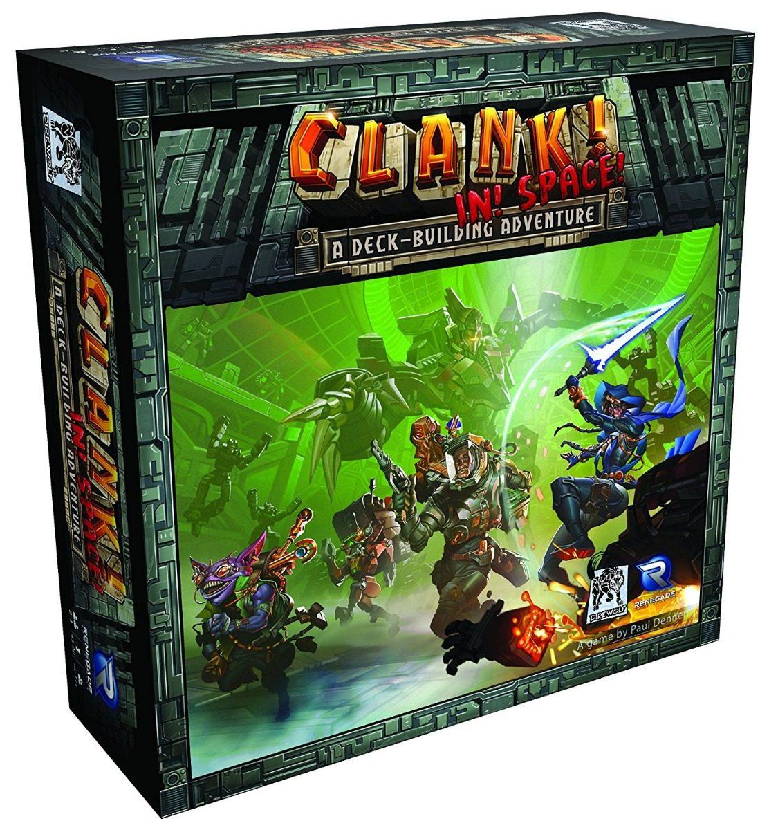 Clank In Space Juego De Mesa Ingles 204 112 En Mercado Libre