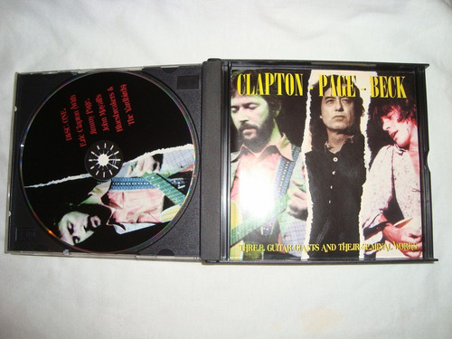 clapton-page-beck dressed to kill audio 3 cd imp caballito*