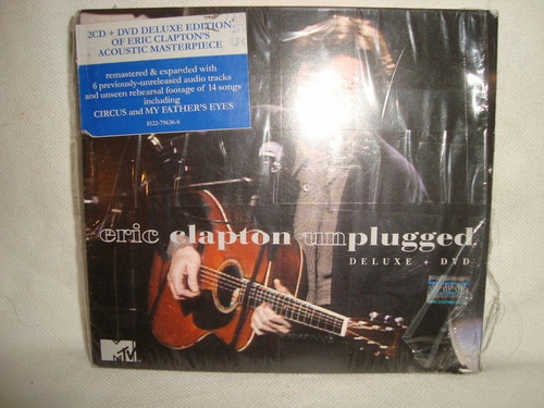clapton unplugged 2cd+dvd deluxe edit audio cd en caballito*