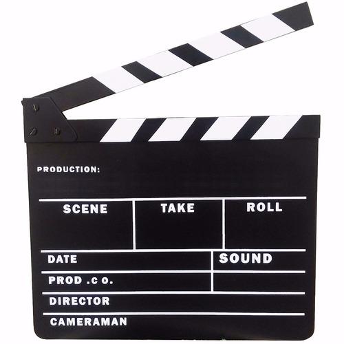 claquete internacional para estúdio de cinema tv decoração.