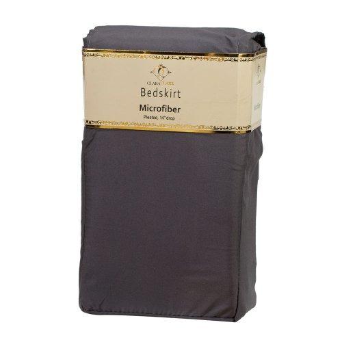 clara clark ® 1500 supremo colección cama sólida falda vola