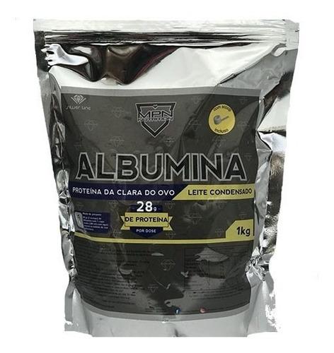 clara ovo albumina 1kg sabor leite condensado