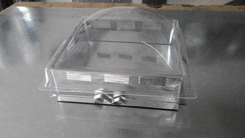 claraboya de 40 x 40 con ventilacion fija varios colores