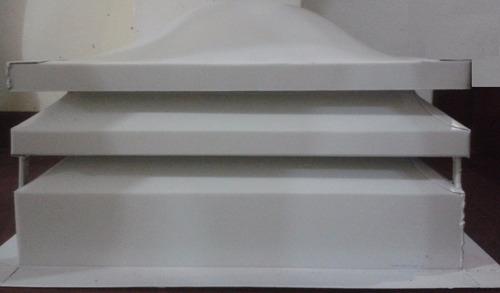 claraboyas 50cm x 50cm cupulas