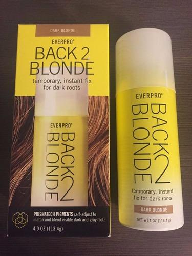 clareador de raízes everpro back 2 blonde dark blonde
